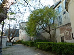City walles of Bourges. Escalier George Sand_ - Photo of Pertain