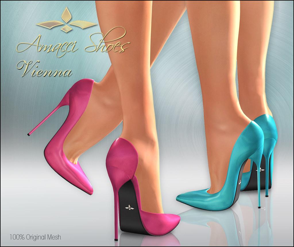 Amacci Shoes - Vienna - SecondLifeHub.com