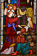 The Miracles of Christ: the raising of Jairus's daughter (Robert Bayne, 1865)