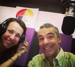Con @lulidotto hablando sobre @100vosmismo #vocación #educacion por @cultura979 hasta las 8.00.