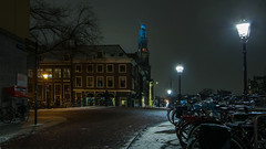 2013 01 16 Evening,Snow......My Amsterdam