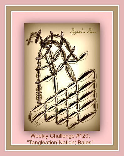 Diva Challenge #120 Tangleation Nation Bales by Poppie_60