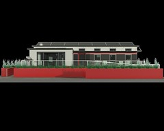 Missouri University of Science and Technology Solar Decathlon 2013 Rendering South Elevation better