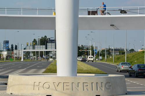 The Hovenring in Eindhoven-40