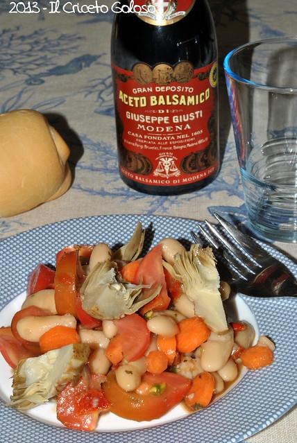 Fagioli pomodori carote carciofini origano peperoni secchi (3)