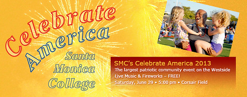 Fireworks Show at Santa Monica College