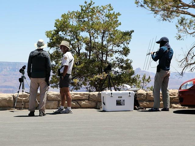 Ken with condor watchers 20130618