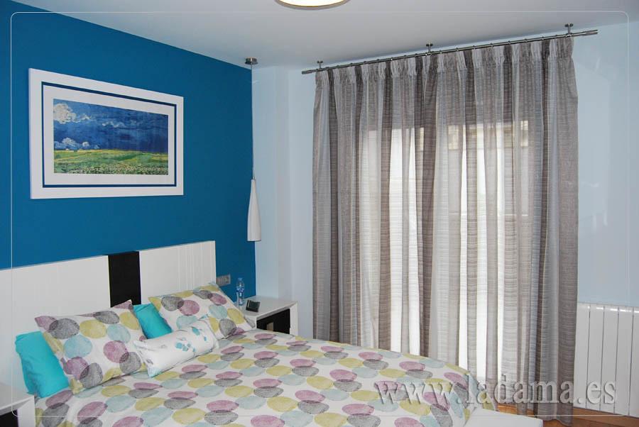Fotograf as de cortinas modernas la dama decoraci n for Cortinas dormitorio principal