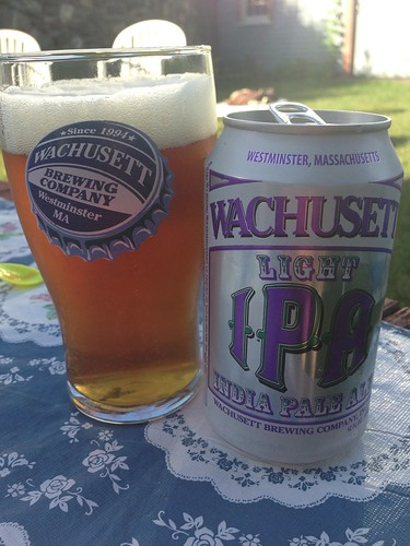 Wachusett Brewing Company Light IPA