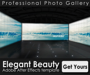 Elegant beauty banner