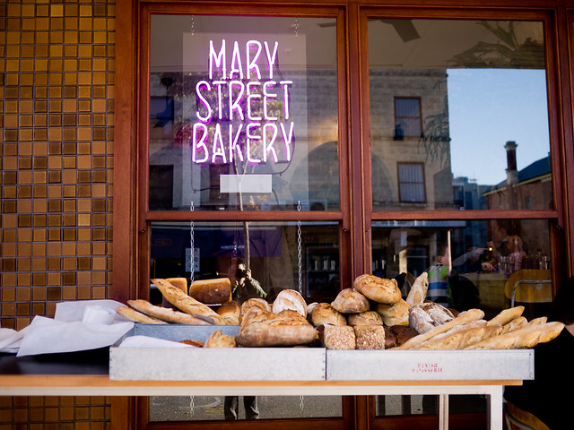 Breakfast at Mary Street Bakery