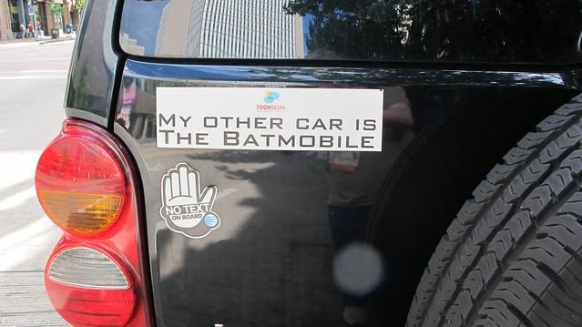 TARDIS car