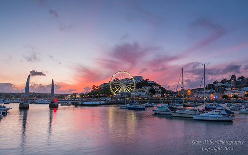 Torquay Harbour Sunset