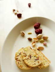 Biscotti with Korean Jujube and Pistachio 27