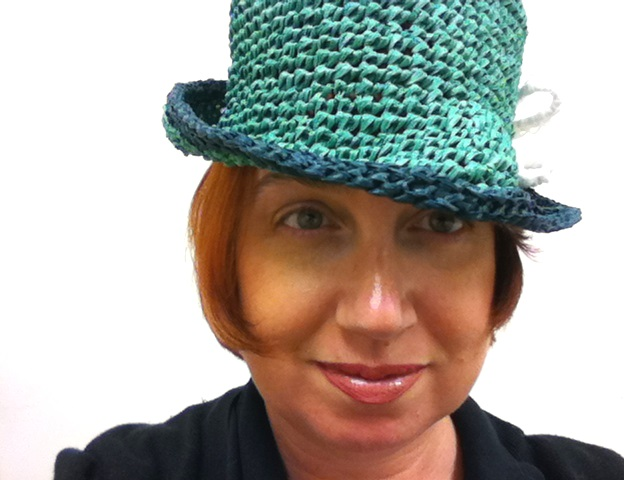 Monster Crochet Crocheted Raffia Fedora Free Pattern