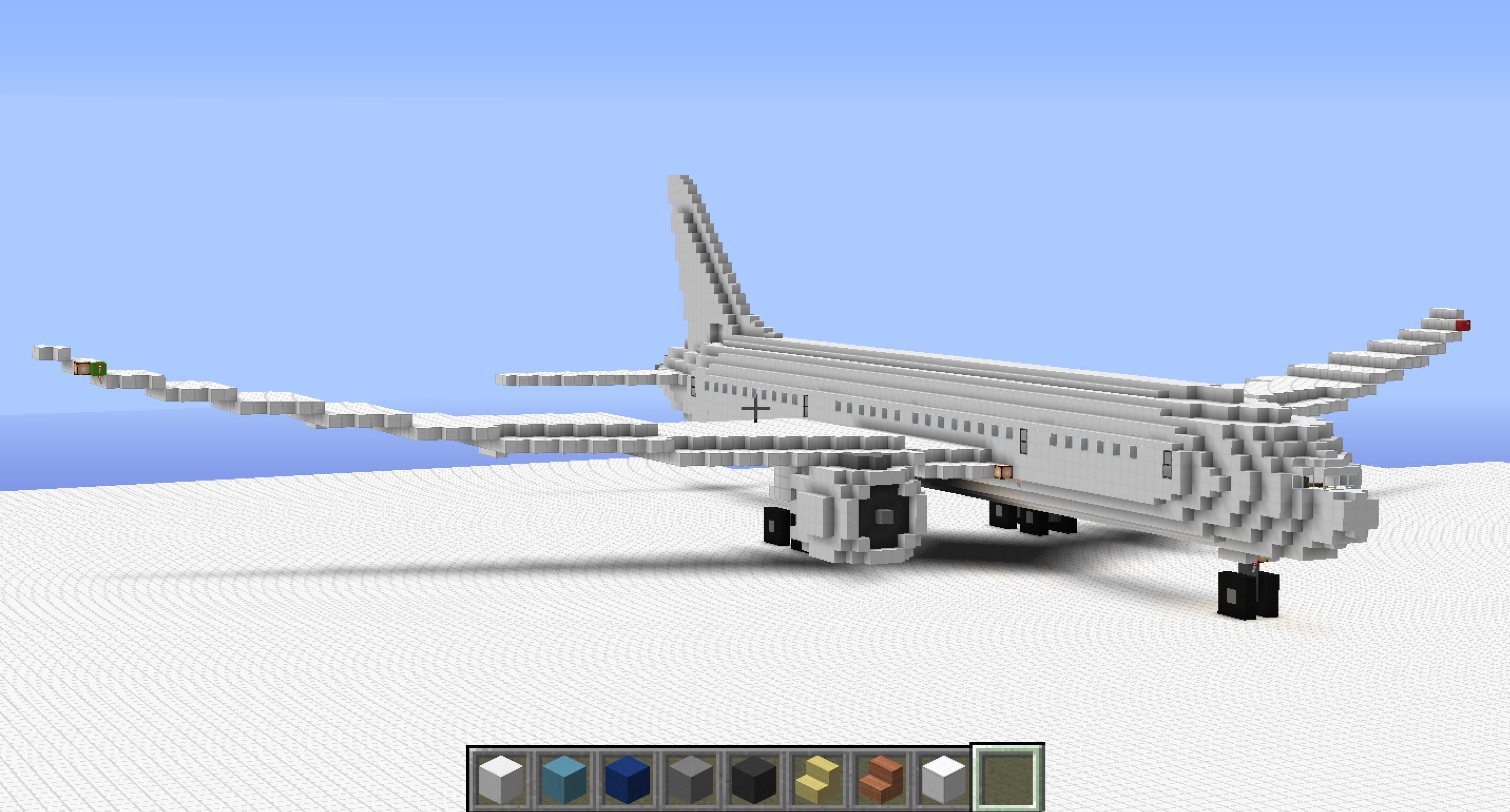 How To Build A Plane Demo 7e7 Minecraft Blog