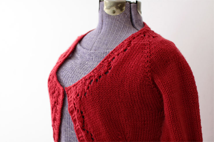 Red Knit #1