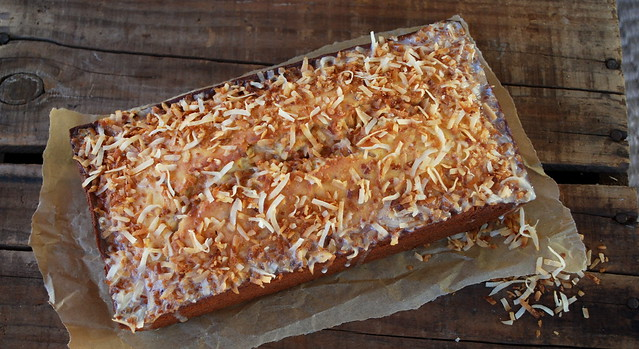 Toasted Coconut Pound Cake 1