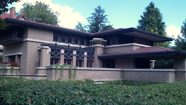 Frank Lloyd Wright - Meyer Mays home