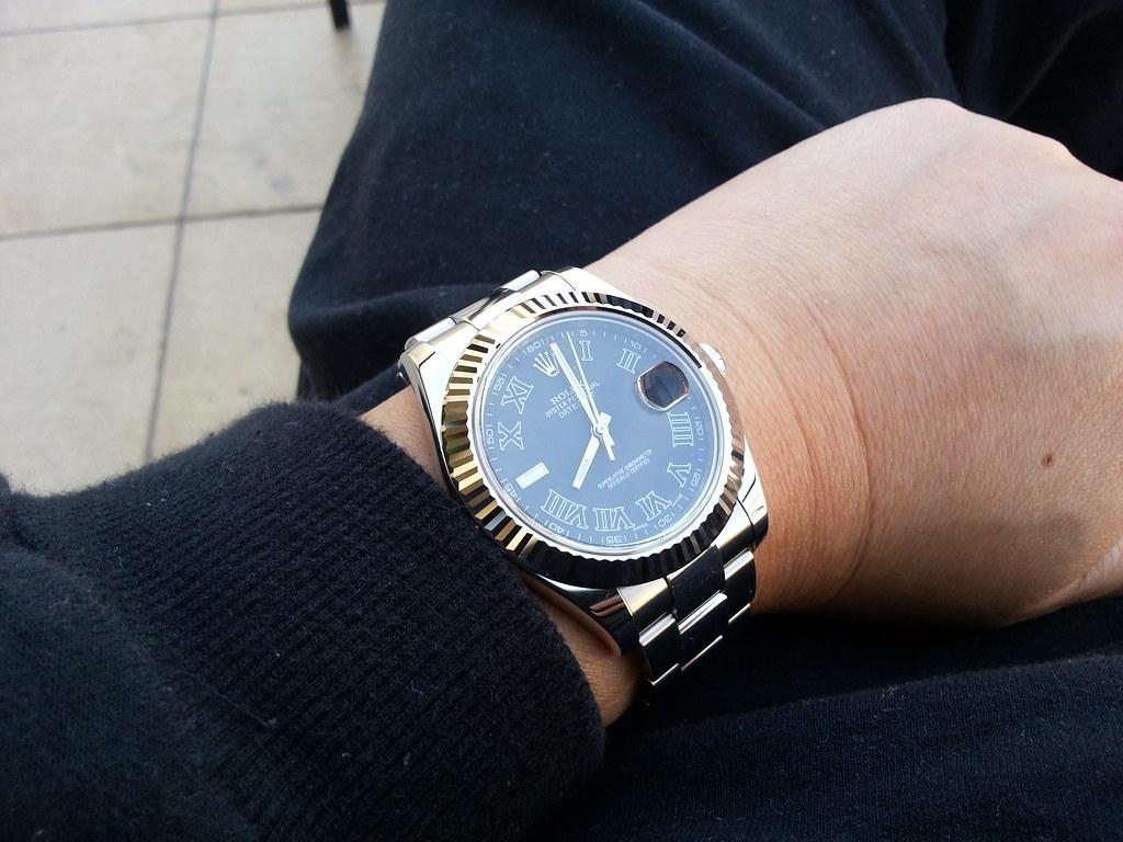 41mm day datesdatejust on smaller wrist rolex forums