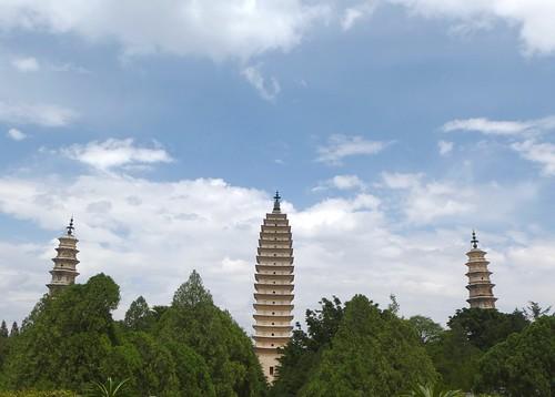 Yunnan13-Dali-1. Pagodes-étang (25)