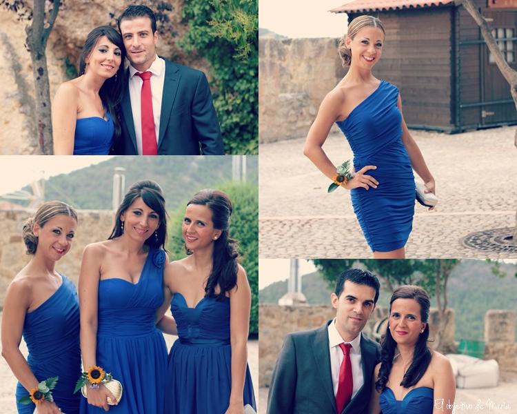 collage antes boda