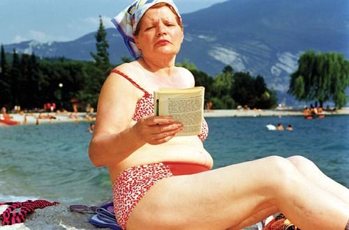Martin Parr.  Italy.  Lake Garda.  Riva del Garda.  1999.  from Life's a Beach