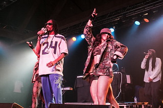 Snoop Dogg aka Snoop Lion Seattle concert pictures