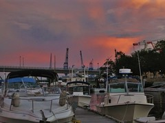 Sunset Over Marina