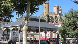 Castle in Foix