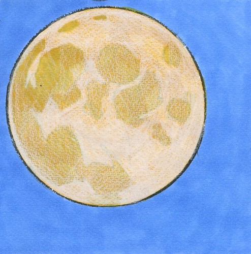 harvest moon after the fact by Bricoleur's Daughter