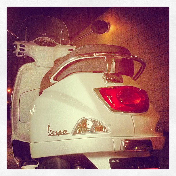 #Piaggio #Vespa LX125 3VでNight Riding