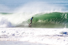 Wildcard Francisco Alves styled into this beautiful tube but it wasn't enough to surpass Matt Wilkinson in Rd. 1.