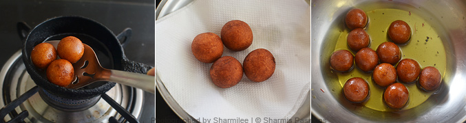 How to make bread jamun - Step4