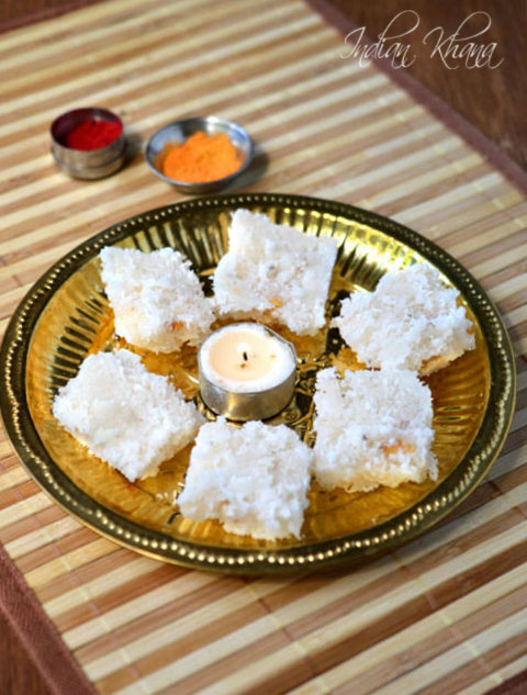 Coconut-Nariyal-Burfi