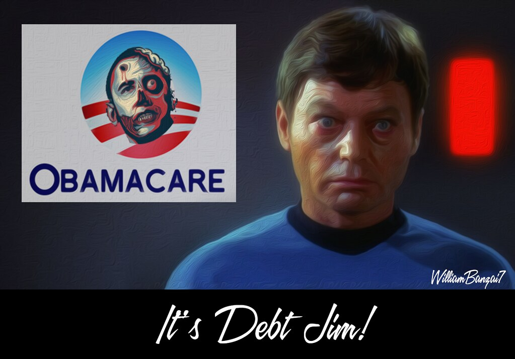 IT'S DEBT JIM!