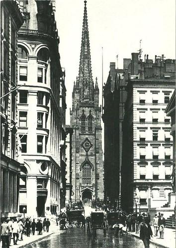 Trinity Church NY a finales del siglo XIX