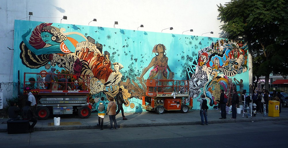 Swoon Mural