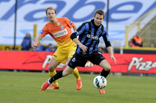Club Brugge - Racing Genk (27 oktober 2013)