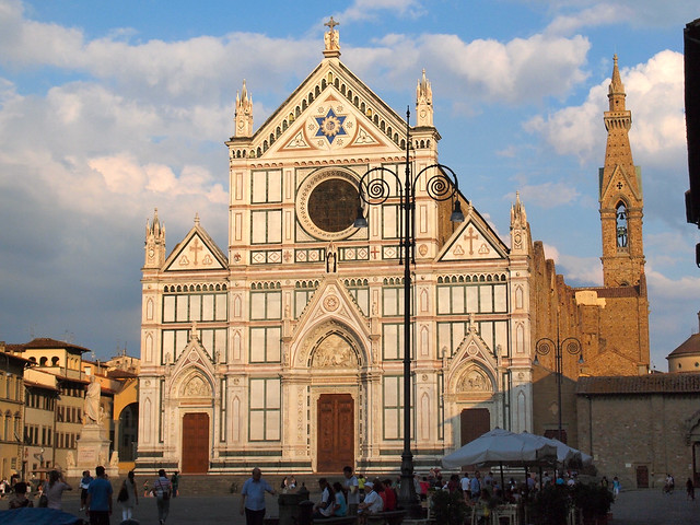 Santa Croce Basilica in Florence