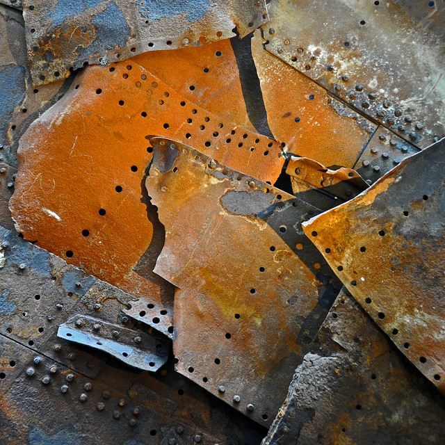 FV Flickr Top 5; 2-30: turned to rust