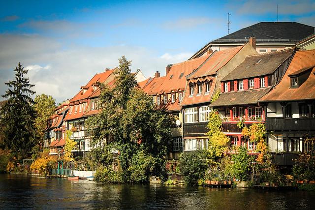 Little Venice, Regnitz, Bamberg