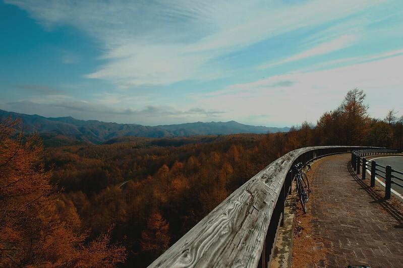 奥草津紅葉の絶景