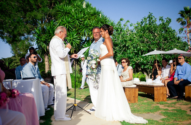 Gina & Jack, real Ibiza wedding