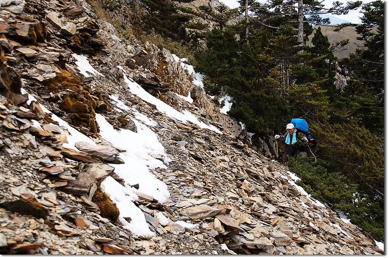 踏雪陡登可樂可樂安山 2
