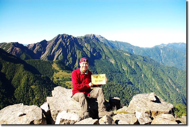 小霸尖山山頂(Elev. 3418 m) 1