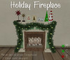 Doolally Decorative Holiday Fireplace