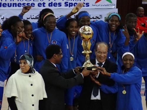 .كاس الافريقي لالابطال الكرة السلة النسوية - قاعة المسيرة في مكناس