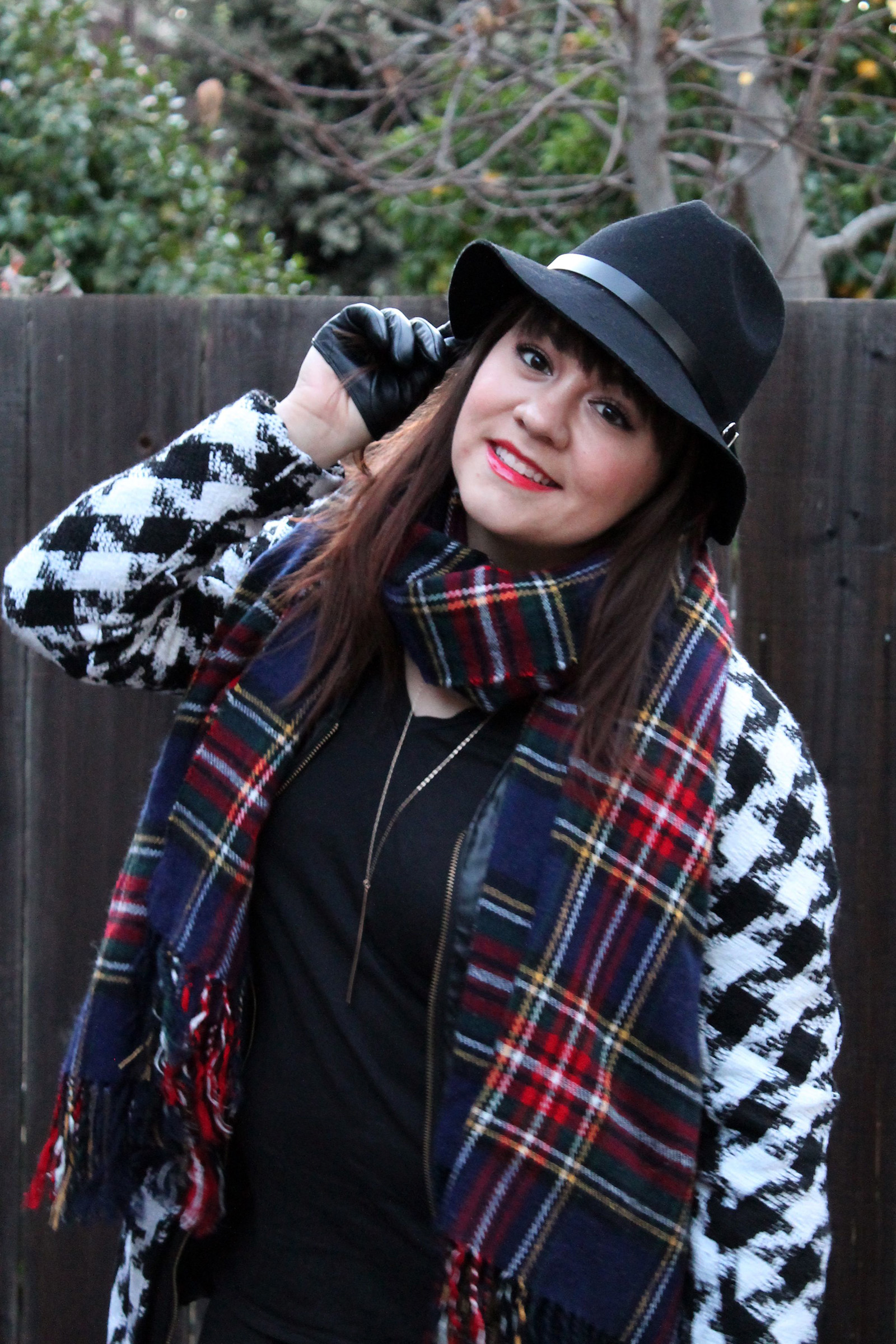 Houndstooth + Plaid