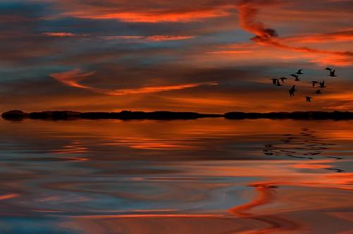 morning red england sky clouds sunrise unitedkingdom kibworth